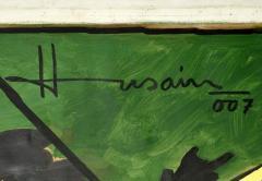 Maqbool Fida Husain Large Maqbool Fida Husain Painting - 1090030