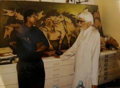 Maqbool Fida Husain Large Maqbool Fida Husain Painting - 1090032