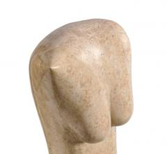 Marble Abstract Figural Sculpture by Oriani Italy 1985 - 536996
