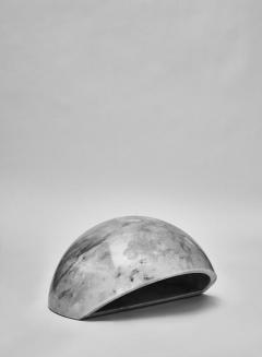 Marble Half Sphere Table Lamp - 1173988