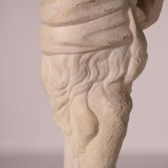 Marble Statue of a Faun Italy 17th Century - 2145124