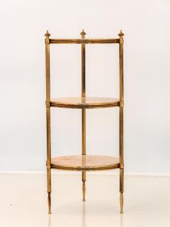 Marble and Brass Side Table - 1667953