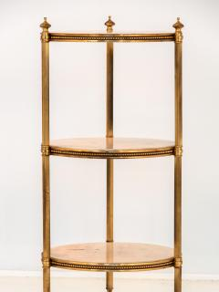 Marble and Brass Side Table - 1667954