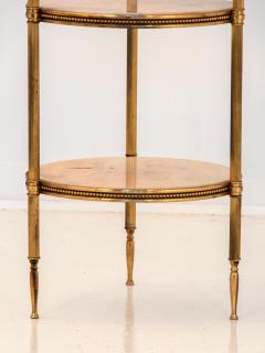 Marble and Brass Side Table - 1667955