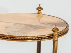 Marble and Brass Side Table - 1667958