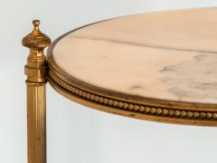 Marble and Brass Side Table - 1667959