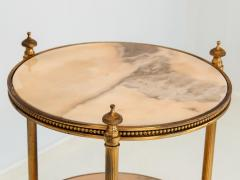 Marble and Brass Side Table - 1667960