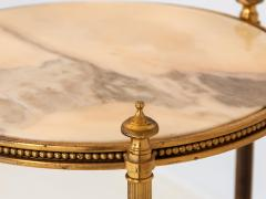 Marble and Brass Side Table - 1667961