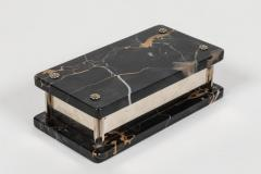 Marble and Nickel Box - 1347805