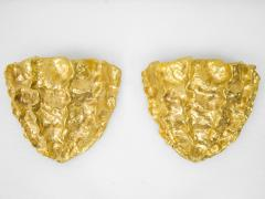 Marc Bankowsky Medusa Pair of wall lights in gilded bronze by Marc Bankowsky 2018 - 1059878