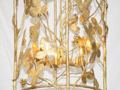 Marc Bankowsky Vines Pendant lighting in gilded bronze by Marc Bankowsky - 1059952