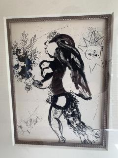 Marc Chagall Marc Chagall Lithograph The Offering  - 1452567