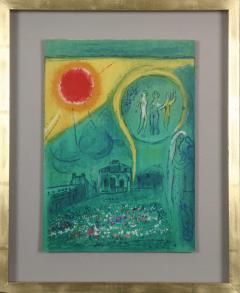 Marc Chagall Paris Fantastique Original colour lithographs 1954  - 1471660