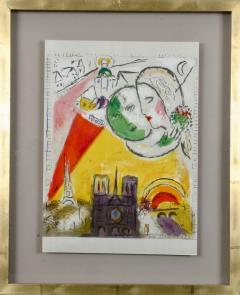 Marc Chagall Paris Fantastique Original colour lithographs 1954  - 1471661