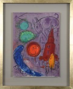 Marc Chagall Paris Fantastique Original colour lithographs 1954  - 1471662