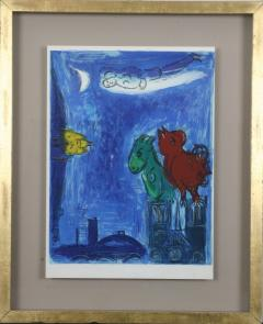 Marc Chagall Paris Fantastique Original colour lithographs 1954  - 1471663