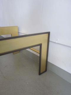 Marc Du Plantier Large French Mid Century Style Coffee Table from a Design by Marc Duplantier - 1787232