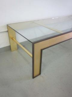 Marc Du Plantier Large French Mid Century Style Coffee Table from a Design by Marc Duplantier - 1787236