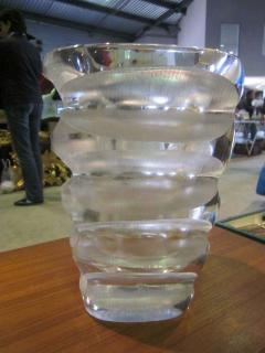 Marc Lalique Rare French MId Century Modern Vase by Marc Lalique - 1844234