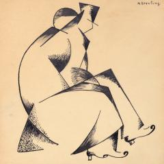 Marc Sterling Cubist Couple - 1218527
