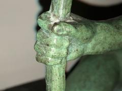 Marcel Andre Bouraine Art Deco Bronze Sculpture by Bouraine of Amazon Queen Penthesilea - 1331220