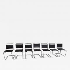 Marcel Breuer Marcel Breuer B33 Leather Dining Chairs 1950s - 854490