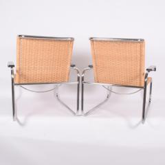 Marcel Breuer Pair B35 Marcel Breuer easy chairs - 958473