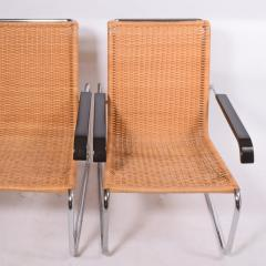 Marcel Breuer Pair B35 Marcel Breuer easy chairs - 958474