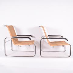 Marcel Breuer Pair B35 Marcel Breuer easy chairs - 958476