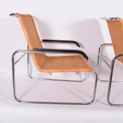Marcel Breuer Pair B35 Marcel Breuer easy chairs - 958477