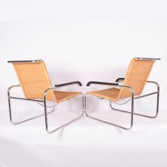 Marcel Breuer Pair B35 Marcel Breuer easy chairs - 958479