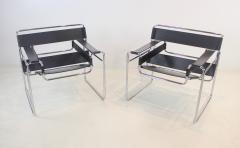Marcel Breuer Pair of Wassily Chairs Designed by Marcel for Breuer for Knoll - 1773209