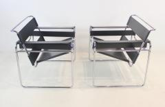 Marcel Breuer Pair of Wassily Chairs Designed by Marcel for Breuer for Knoll - 1773210