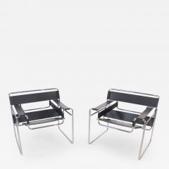 Marcel Breuer Pair of Wassily Chairs Designed by Marcel for Breuer for Knoll - 1773999