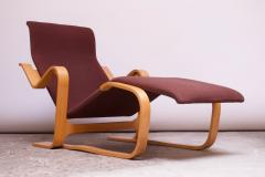 Marcel Breuer Vintage Marcel Breuer Bent Plywood Chaise Longue Long Chair for Knoll - 1555223