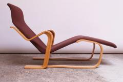 Marcel Breuer Vintage Marcel Breuer Bent Plywood Chaise Longue Long Chair for Knoll - 1555228