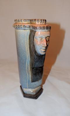 Marcel F lix Guillard Art Deco Vase Two Faced by Guillard - 282007