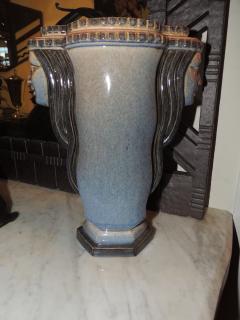 Marcel F lix Guillard Art Deco Vase Two Faced by Guillard - 282009