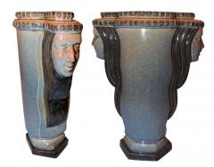 Marcel F lix Guillard Art Deco Vase Two Faced by Guillard - 282013