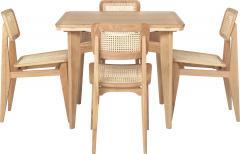 Marcel Gascoin Marcel Gascoin C Chair Dining Chair in American Walnut - 1691994