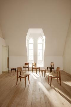 Marcel Gascoin Marcel Gascoin C Chair Dining Chair in American Walnut - 1691996