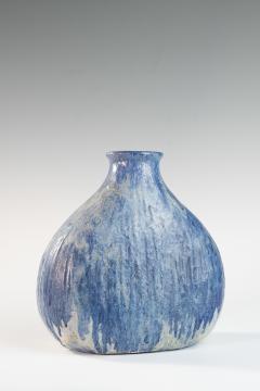 Marcello Fantoni Blue medium onion shaped vase by Marcello Fantoni - 1471633
