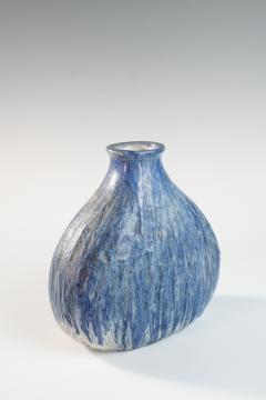 Marcello Fantoni Blue medium onion shaped vase by Marcello Fantoni - 1471636