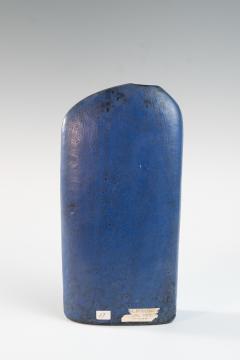Marcello Fantoni Early lapis blue asymmetric slab vase by Marcello Fantoni Italy 1957 - 939793