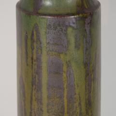 Marcello Fantoni FANTONI CERAMIC TALL GREEN LAMP - 1845923