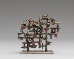 Marcello Fantoni Glazed Ceramic Sculpture by Marcello Fantoni 1970s - 1945783