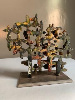Marcello Fantoni Glazed Ceramic Sculpture by Marcello Fantoni 1970s - 1945893