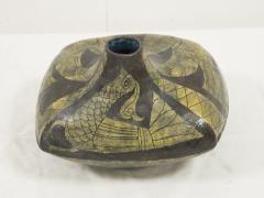 Marcello Fantoni Marcello Fantoni Ceramic vase with Etruscan inspiration circa 1960 - 1049122