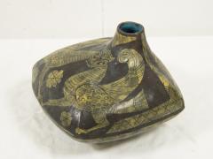 Marcello Fantoni Marcello Fantoni Ceramic vase with Etruscan inspiration circa 1960 - 1049124