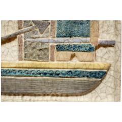 Marcello Fantoni Marcello Fantoni Figural Ceramic Wall Plaque 1950s - 511824